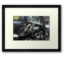 Dashing Austin Framed Print