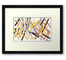 Fenced Framed Print