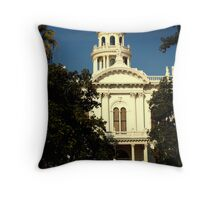 The Court House Throw Pillow