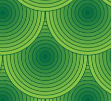 Green Scales Sticker