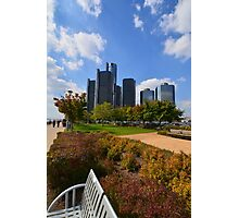 Welcome to Detroit City Photographic Print
