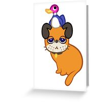 Duckhunt Dog Cat Greeting Card