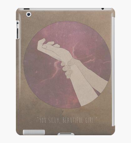 You Silly, Beautiful Girl iPad Case/Skin