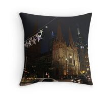 St Pauls by night Throw Pillow