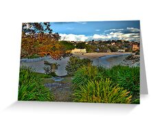 Paintbush - Balmoral Beach - The HDR Experience Greeting Card