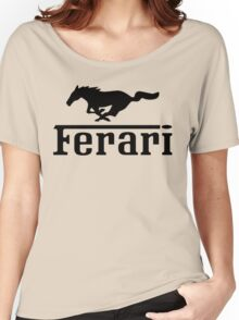 Ferari Women's Relaxed Fit T-Shirt