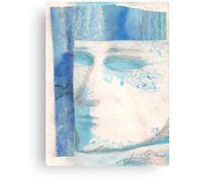 BLUE FACE (C2000) Canvas Print