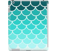 Ombre Fish Scale Pattern iPad Case/Skin