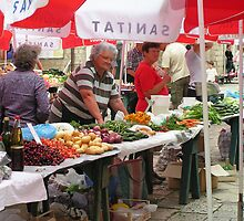 Dubrovnik Old Town Market by elspeth2000
