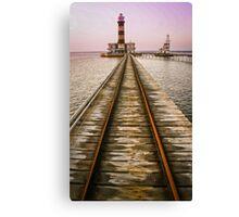 Daedalus Lighthouse, Red Sea Canvas Print