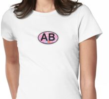 Atlantic Beach - North Carolina. Womens Fitted T-Shirt