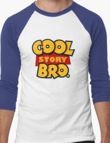 Cool Story Bro (Toy Story) Men's Baseball ¾ T-Shirt