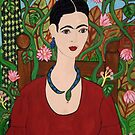 Frida with Vines by Shulie1