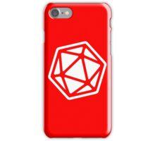 D&D 20 Side Die iPhone Case/Skin