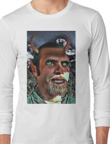 The Grinning Satyr  Long Sleeve T-Shirt