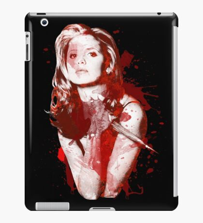 Splatter Buffy iPad Case/Skin