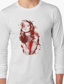 Splatter Buffy Long Sleeve T-Shirt