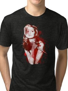 Splatter Buffy Tri-blend T-Shirt