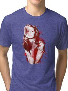 Splatter Buffy Tri-blend T-Shirt
