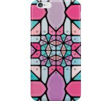 Candy garden voronoi iPhone Case/Skin