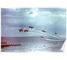 So Low - The Red Arrows, Broadstairs Kent -  1979 Poster