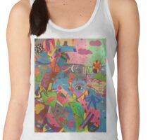 Abstract Colorful World Women's Tank Top