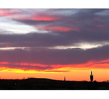 Sundown Arizona  Photographic Print