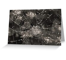 Crystals In Winter Greeting Card