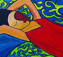 Canopied Bed by Ming  Myaskovsky