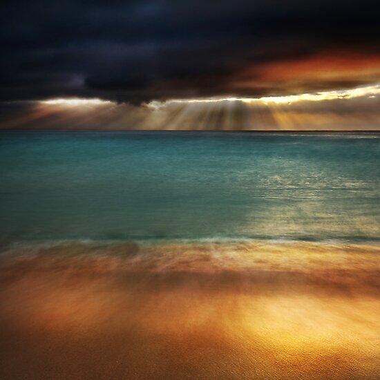 Land Sea Sky I by Tom Black