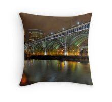 Veteran's Memorial Bridge Throw Pillow