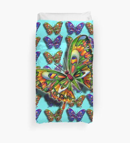 Butterfly Duvet with Large Burst Duvet Cover