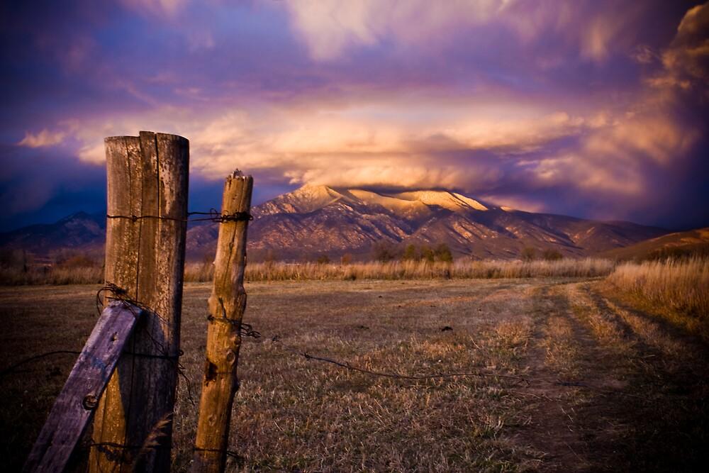 Sange De Cristo, Taos, NM by Estevan Montoya