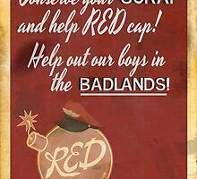 TF2 cp_badlands propaganda poster by jovialmaverick