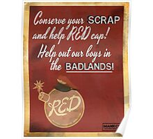 TF2 cp_badlands propaganda poster Poster