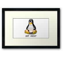 Linux - Got *Nix? Framed Print
