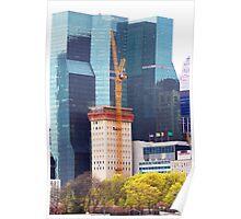 Pray that Crane Don't Fall Poster