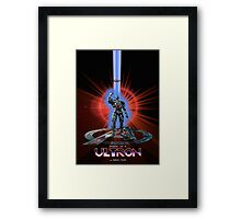 Avengers: Age of ULTRON (TRON Poster) Framed Print