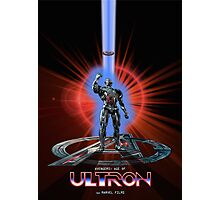 Avengers: Age of ULTRON (TRON Poster) Photographic Print