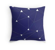 Triangle & lines  Throw Pillow