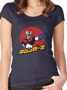 Mazinger-Z Women's Fitted Scoop T-Shirt