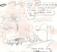 LETS GO(C2012)(0RIGINAL HAND DRAWN SCAN) by Paul Romanowski
