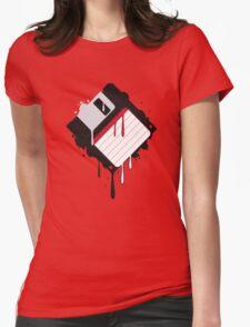 Floppy Splat Womens Fitted T-Shirt