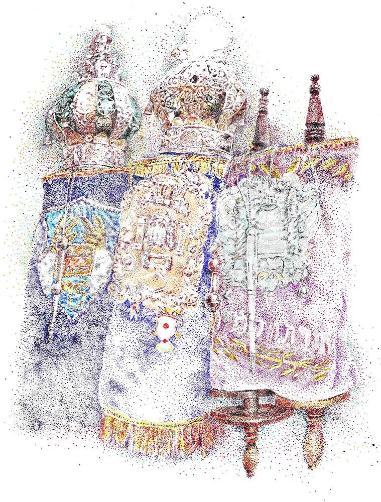 Three Torahs by Garth Potts