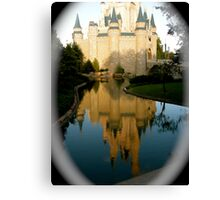 Castle of My Dreams Canvas Print