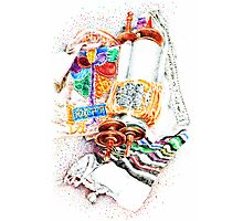 Closed Torah with Colorful Cover Photographic Print