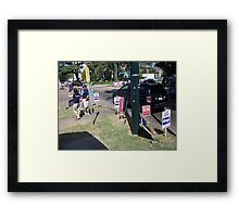 2008 Elections In NOLA Framed Print