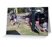 2008 Elections In NOLA Greeting Card
