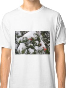 Snow Cover Holly Classic T-Shirt