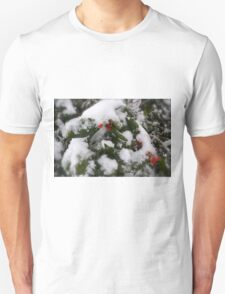 Snow Cover Holly T-Shirt